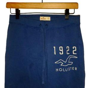 Hollister Wmns Sweatpants Bird Logo Blue XS